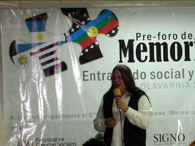IMÁGENES DEL PRE FORO DE MEMORIA E IDENTIDAD